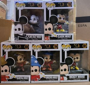 """FUNKO: MICKEY MOUSE """"50 YEARS: DISNEY ARCHIVES"""" (COMPLETE SET) 🔥 (PRISTINE CONDITION/INCLUDES PROTECTORS) **AVAILABLE/I PAY EXTRA SHIPPING** for Sale in Philadelphia, PA"""