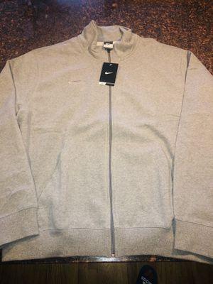 New Heather Gray NIKE TECH SPORTSWEAR FLEECE Full ZIP UP JACKET XL, Jordan for Sale in Chicago, IL