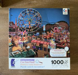 """Ceaco two in one jigsaw puzzle and """"can you find?"""" for Sale in Miami, FL"""