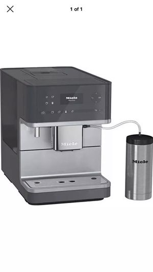 Miele CM6350 Countertop Espresso Coffee Machine Maker in Graphite Grey * Brand new for Sale in Corona, CA