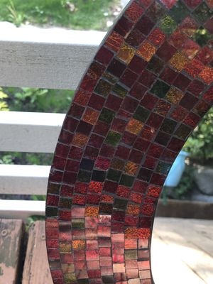 Stained glass framed mirror for Sale in Seattle, WA