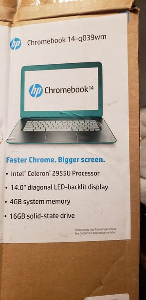 Hp chromebook for Sale in Oroville, CA