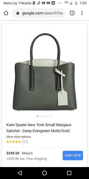 Brand new never been worn Kate Spade still going four original price in stores for Sale in Billerica, MA