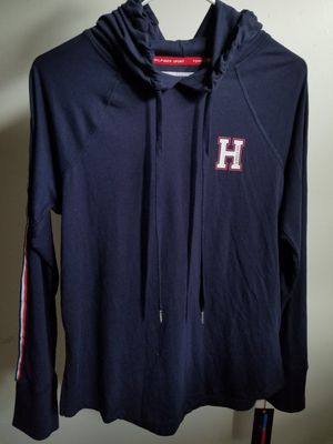Tommy Hilfiger Sport hooded long sleeved tee size small for Sale in Covina, CA