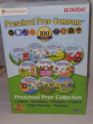 Preschool prep dvd collection for Sale in Spring Hill, FL