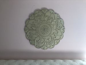 Home decor - distressed medallion wall plaque wall art $25 for Sale in Takoma Park, MD