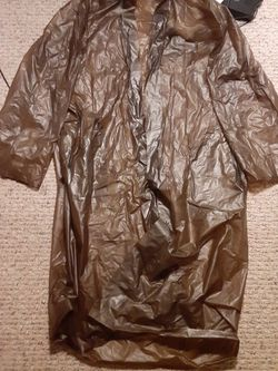 Trench Rain Caot Size Large Almost 46 Inches Top To Bottom for Sale in New Port Richey,  FL