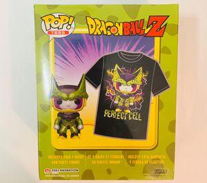 Dragonball Z tshirt sz L+Funko pop for Sale in Cartersville, GA