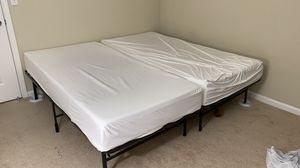 Twin XL bed with 6 inch mattress (2 available) for Sale in San Jose, CA