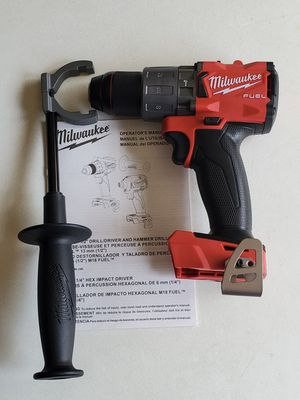 "MILWAUKEE M18 FUEL BRUSHLESS 1/2"" HAMMER 🔨 DRILL/ DRIVER 3RD GENERATION (TOOL ONLY) for Sale in Los Angeles, CA"