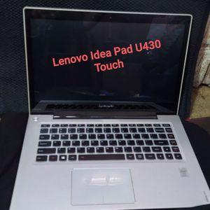 Lenovo Ideapad U430 Touchscreen Laptop for Sale in Modesto, CA