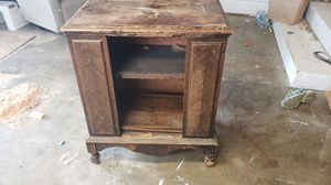 Antique Vintage Wood Cabinet for DIY Refinishing Project for Sale in Renton, WA