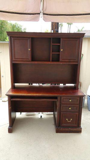 Desk with hutch for Sale in Tustin, CA