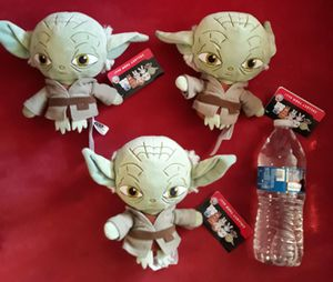 Starwars plushies $8 each new condition for Sale in Lawndale, CA