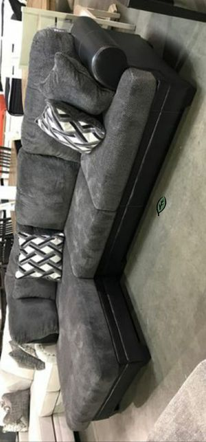 🍾🍾 Best Offer ‼ Kumasi Smoke LAF Sectional | 32202 99 for Sale in Jessup, MD