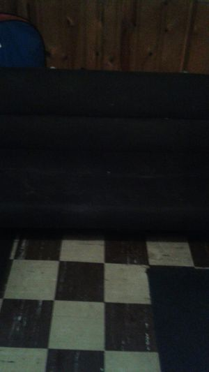 Black microfiber futon for Sale in Dearborn, MI