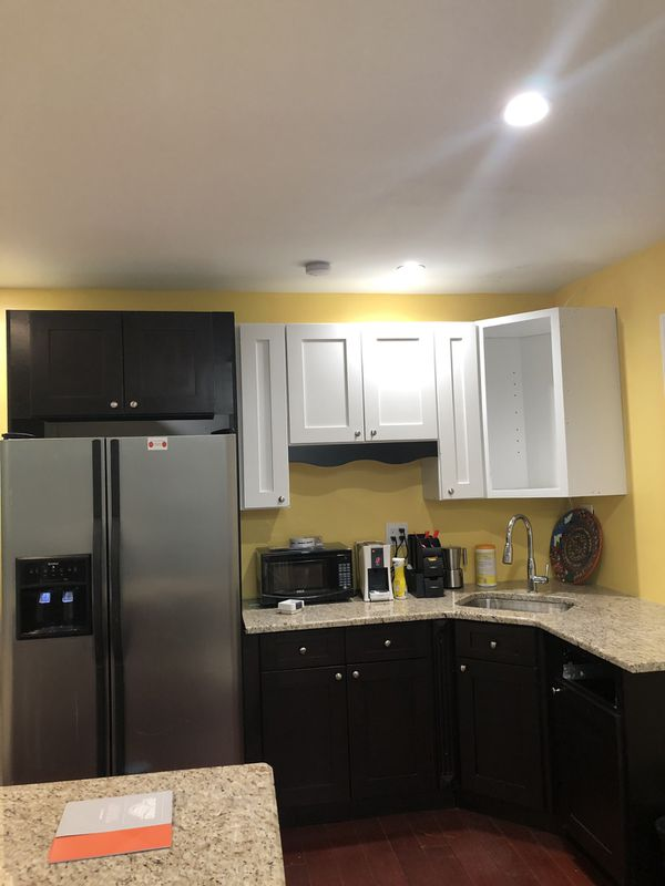 Kitchen cabinets and granite top , 96x60, plus island 50x24