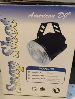 America DJ stage-photography lights for Sale in Dunedin, FL