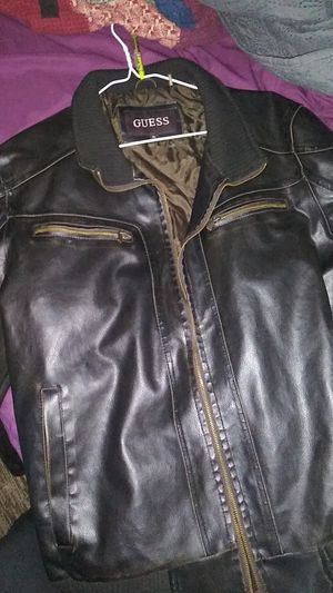 Guess leather jacket for Sale in Dallas, TX