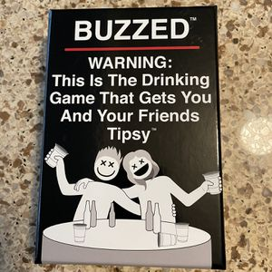 Buzzed Drinking Card Game for Sale in Norwalk, CA