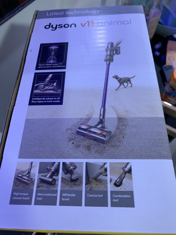 Dyson V11 Animal vacuum. Intelligently optimizes suction and run time. Deep cleans everywhere. /Brand New, Sealed