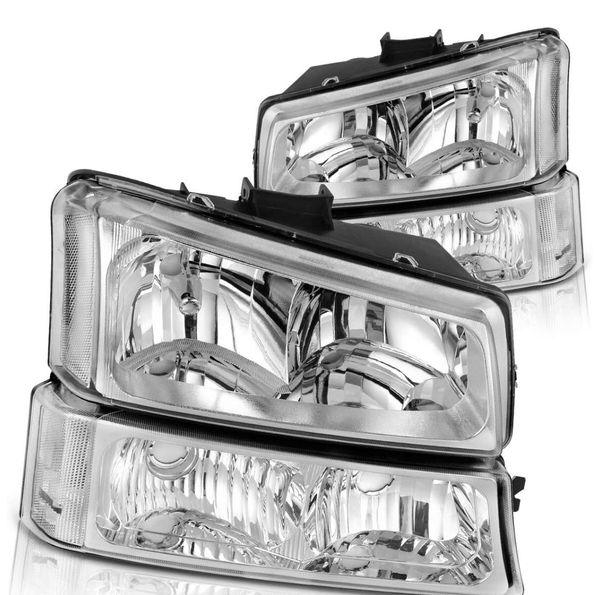 03/06 Silverado clear headlights