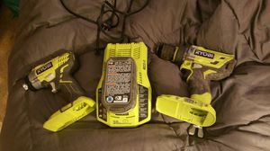 Ryobi hammer drill, impact drill and charger for Sale in Pearl, MS