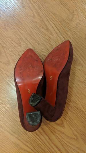 Burgundy red bottoms for Sale in Rockville, MD