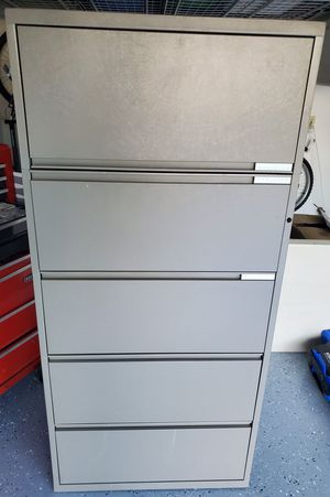 Herman Miller Meridian 5 Drawer Lateral File Cabinet for Sale in Avon, OH