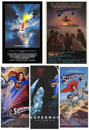 Superman 5 rolled movie posters for Sale in Lincolnia, VA