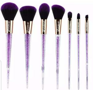 7pcs purple glitter makeup brush set for Sale in Los Angeles, CA