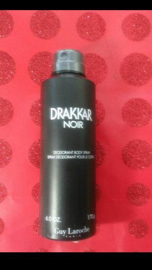 🎅Drakkar Noir Deodorant Body Spray 6 oz -Great Christmas Gift for Sale in Denver, CO