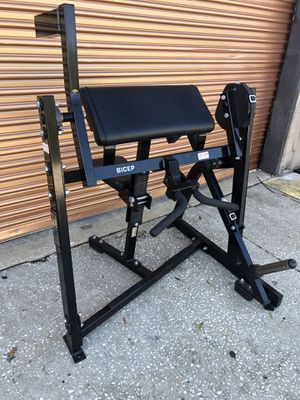 Hammer Strength Bicep Curl- Commercial Gym Equipment for Sale in Davenport, FL