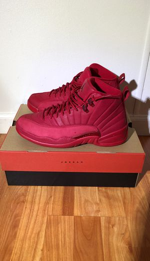 Air Jordan 12 Retro- Red. SIZE 9 1/2 for Sale in Puyallup, WA