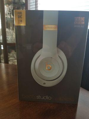Brand new, never opened Beats by Dr. Dre - Beats Studio3 Wireless Headphones - Skyline Collection - Crystal Blue for Sale in Phoenix, AZ
