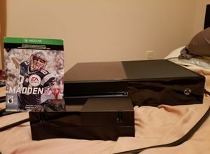 Xbox One with Xbox Controller and Madden 17 for Sale in Monroeville, NJ