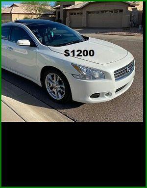 Price$12OO Nissan Maxima for Sale in Bernice, LA