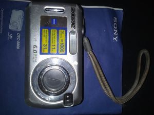Sony. Cybershot 6.0 camera for Sale in Bakersfield, CA