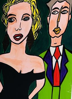 Beautiful Modern Art Framed Painting for Sale in Plano,  TX