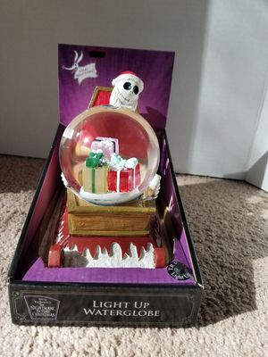 Nightmare before Christmas Snow Globe for Sale in Phoenix, AZ