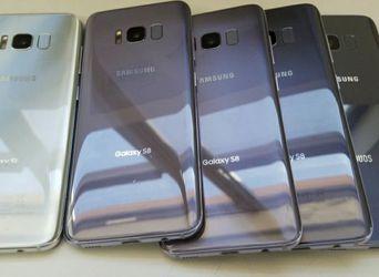 Unlocked Samsung Galaxy S8 Plus wholesale lot of 5 64GB phenomenal condition for Sale in Miami,  FL