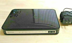 Netgear n750 4-port Wi-Fi gigabit router (WNDR4300) for Sale in Seattle, WA