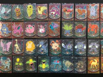 (37) Topps Chrome Pokemon Cards Series 1 - NM/Mint - See Pic for Cards Inc - LOT for Sale in Tampa,  FL