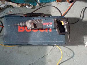 Bosh Hammer drill corded for Sale in Salt Lake City, UT