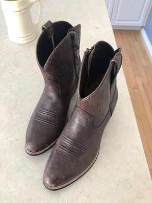 Ariat Darlin' distressed brown boot - 7.5 women's for Sale in Auburn, WA