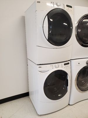 Kenmore front load washer and electric dryer set in good condition with 90 day's warranty for Sale in Mount Rainier, MD