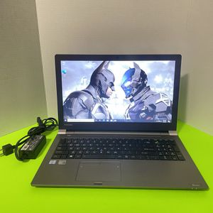 Toshiba Terca Z50-C ,15 Inch Laptop 256GB SSD,8GB Ram, Intel I7, NVIDA GeForce , Wind 10 for Sale in Arlington, TX