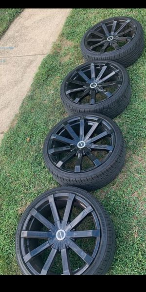 VENDO RINES MANCA STRADA ZAIZ 20X8.5. ESTAN SEMI NUEVOS SON 5 OYOS UNIVERSALES for Sale in UNIVERSITY PA, MD