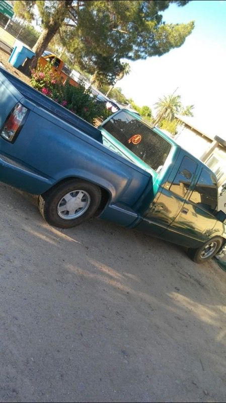 Chevy step side