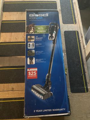 BISSELL ICONpet High-Powered Cordless Vacuum Cordless Stick Vacuum Item #1361795Model #22882 for Sale in North Providence, RI